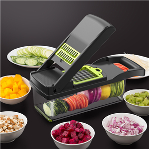 Vegetable cutting artifact multifunctional dicing grater