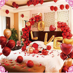 Valentine balloon set