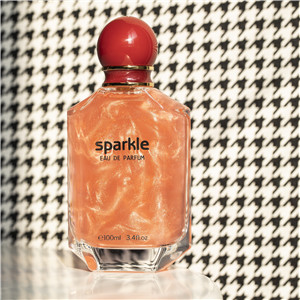 Sparkle Series-Red Floral–woody