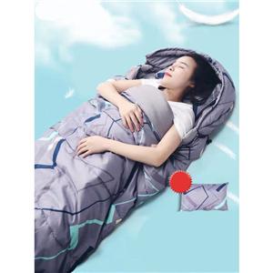 Colorful printed outdoor sleeping bag