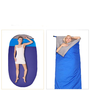 Outdoor sleeping bag for adults