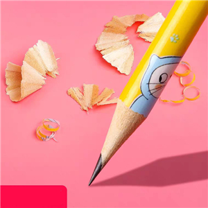 Children's pencil to send rubber pencil sharpener