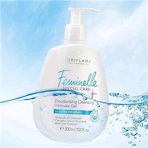 Deodorising cleansing intimate gel