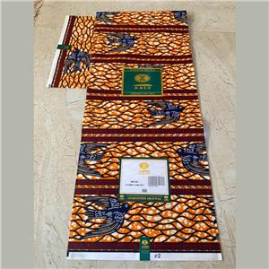 Medium ABC wax Ankara Fabric
