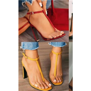 Sandals with high heels for classy ladies