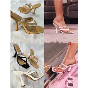 Fashionable lady heels