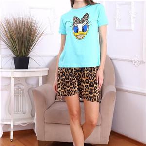 leopard print lounge wear