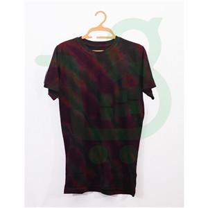 Unisex Adire T-shirt -  Wine
