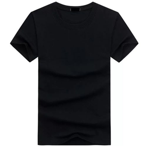 New Plain T-shirt - Black
