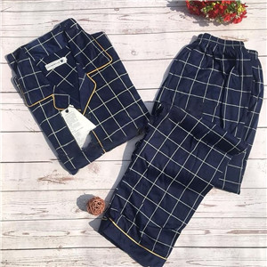 Male long sleeve pajamas