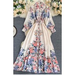 Flowery gown