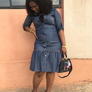 The fashionista denim dress
