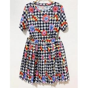 Short printed fashion suit skirt