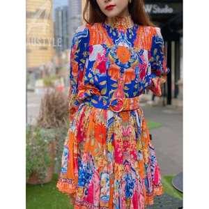 Stylish printed skirt
