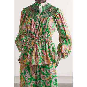 Stylish printed trouser suit