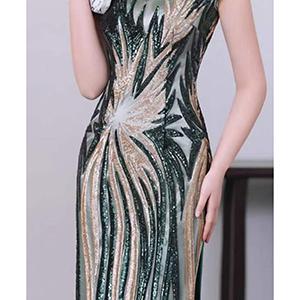 Elegant dress long dress