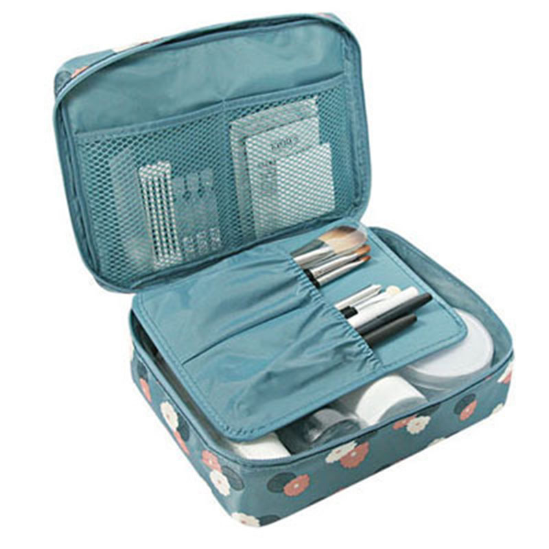 Multi-function travel cosmetic bag