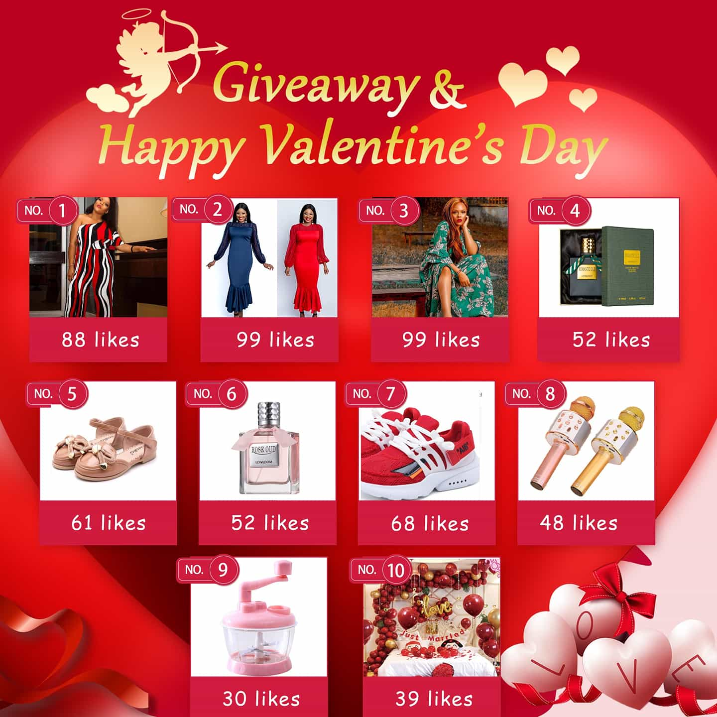UNAKU Giveaway for Valentine's Day