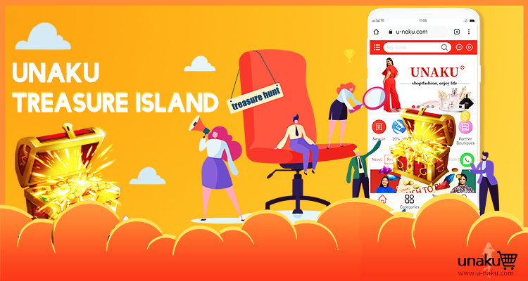 Join The Unaku Treasure Island for a chance to Win Big