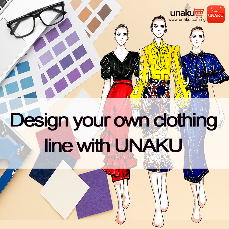 Design your own clothing line with UNAKU