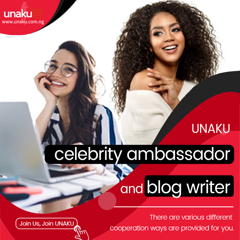 UNAKU celebrity ambassador and blog writer