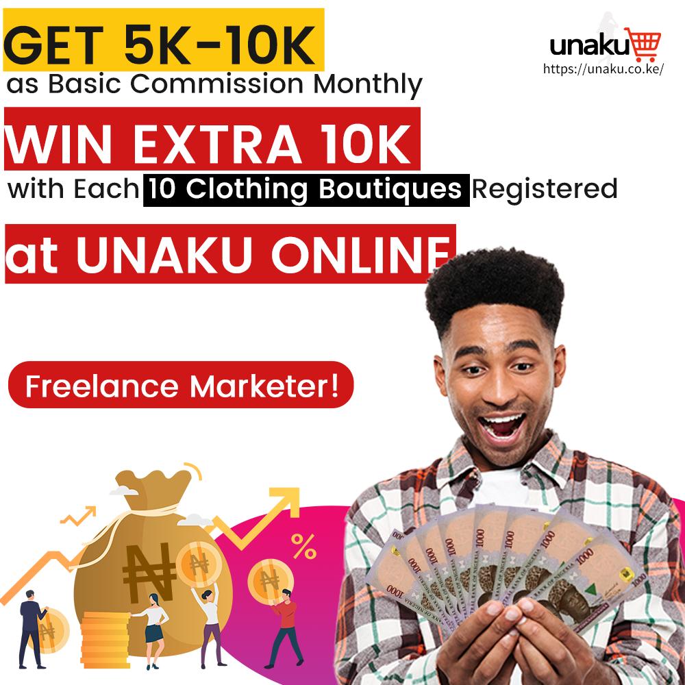 Be UNAKU Co-brand Marketer
