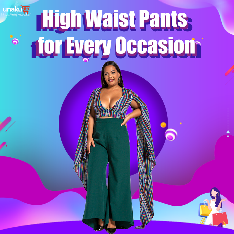 High Waist Pants for Every Occasion