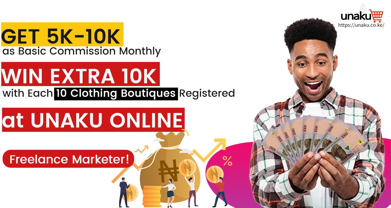 Be UNAKU Vendor Marketer