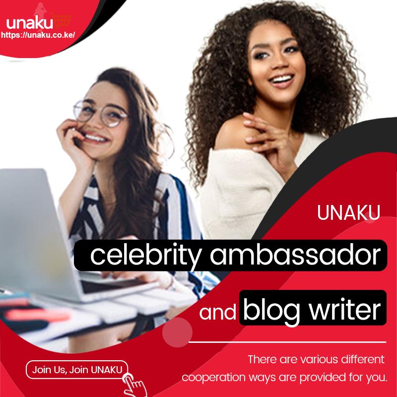 UNAKU celebrity ambassador and blog writer