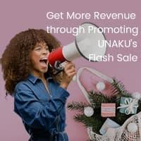 Shop Smart at UNAKU's Flash Sale